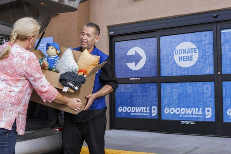 Collecting donations