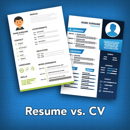 Should You Write a Resume or a CV?