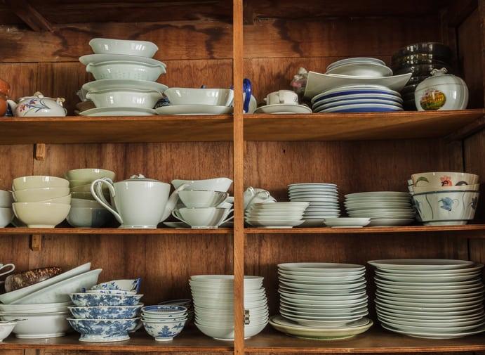 Repurposing Old Dishes