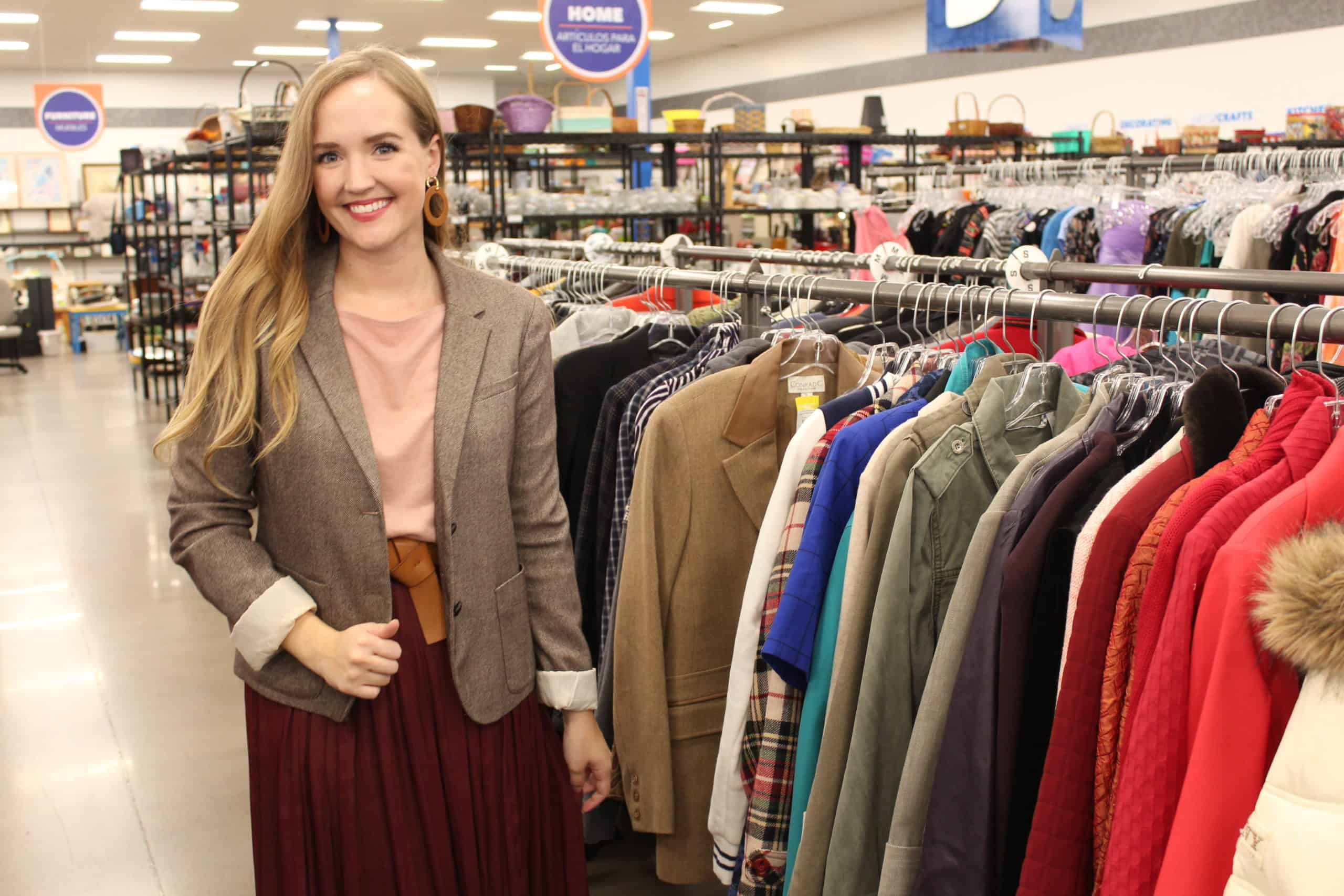 Thrift Shopping Tips at local Goodwill Store