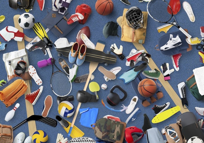 used sports equipment | Goodwill Arizona
