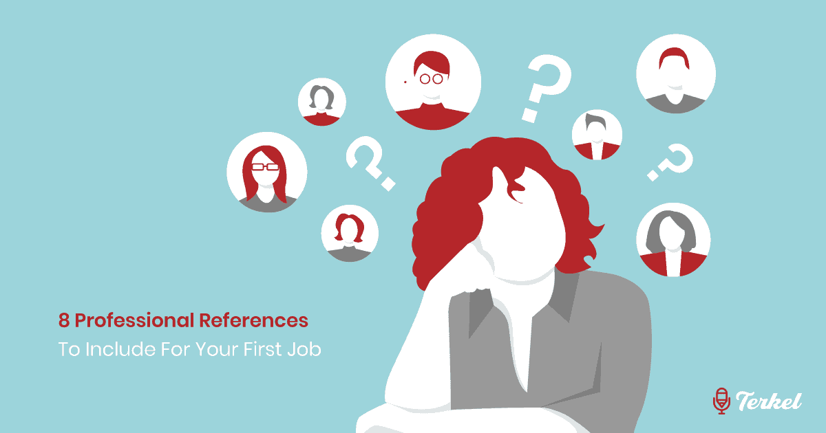 8 Professional References To Include For Your First Job