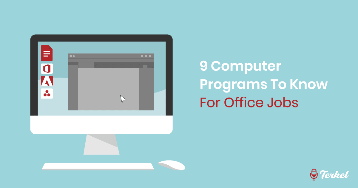 9 Computer Programs To Know For Office Jobs
