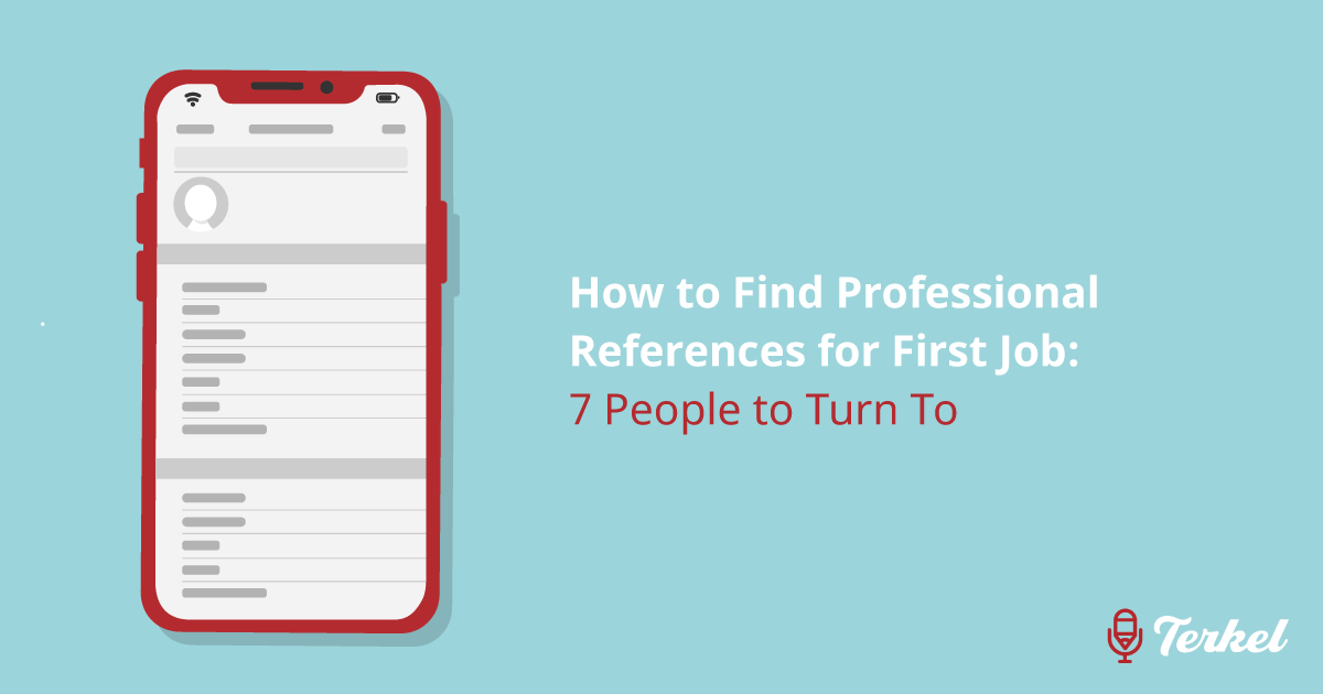 How to Find Professional References For First Job: 7 People to Turn To